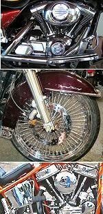 Harley Chrome PA. - Motorcycle Chrome - Chrome Parts PA. - Chrome Wheels - Chrome Motorcycle Accessories PA.