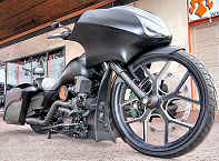 The Phamton Custom Turbo Bagger Built By Iron Hawg Custom Cycles Pennsylvania