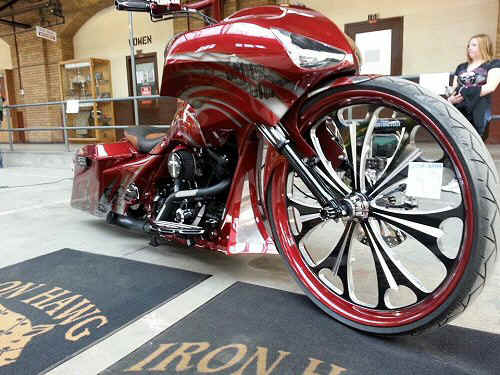 "Custom Bagger Builders PA., Custom 30 Inch Bagger Motorcycle Build - ""Rick's 30"" - By Iron Hawg Custom Cycles Hazleton, Pennsylvania"
