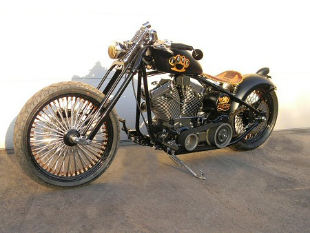 Custom Bobber Motorcycle Builders PA - Iron Hawg Custom Cycles Inc,
