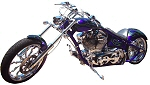 Custom Chopper Builder Iron Hawg Custom Cycles of PA. Introduces The Godfather Custom Chopper