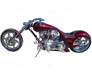 Custom Chopper PA., The Styx River Reaper Theme Chopper