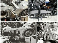 Custom Motorcycle Shift Controls & Covers Fabrication Pennsylvania