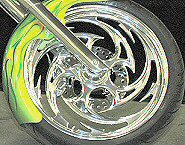 Chrome Motorcycle Wheels PA.