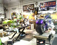 Motorcycle Repair PA., Harley Repair PA., Motorcycle Inspections, Service, Tire Mounting, Upgrades, Insurance Claim Repairs