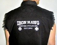 Iron Hawg Logo Apparel with the famous Iron Hawg