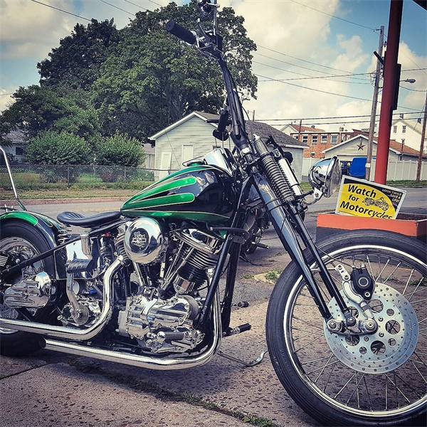 Harley Davidson Restoration - 1956 Panhead by Iron Hawg Custom Cycles Hazleton, PA