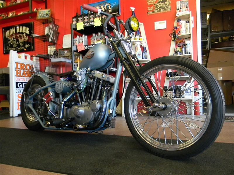 Custom Bobber Motorcycle Build - The Tender Mercies Iron