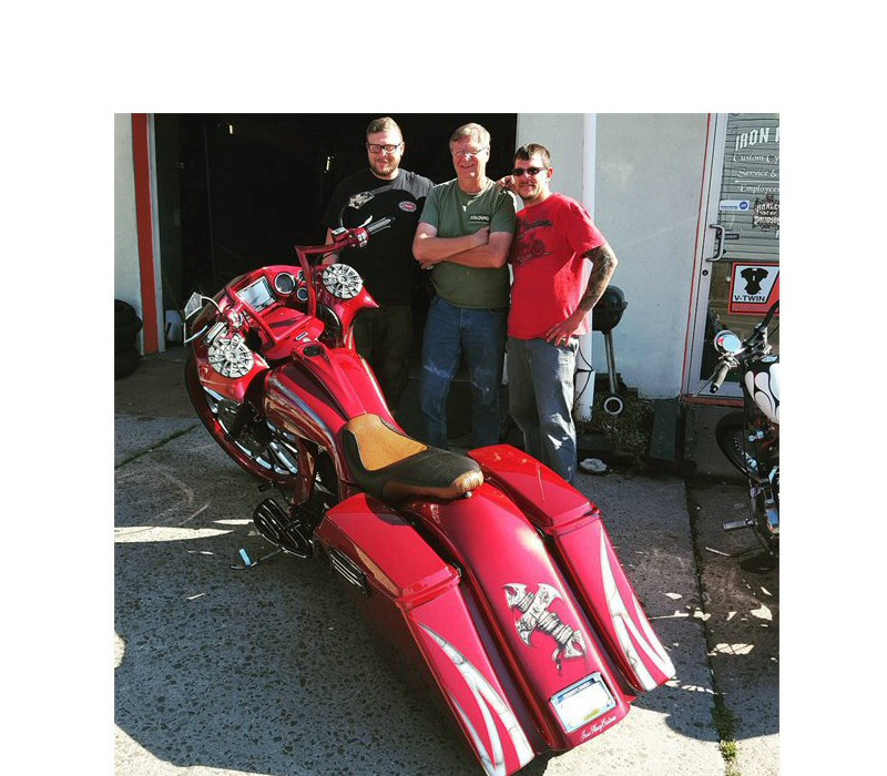 Custom Bagger Builders PA - Iron Hawg Custom Cycles