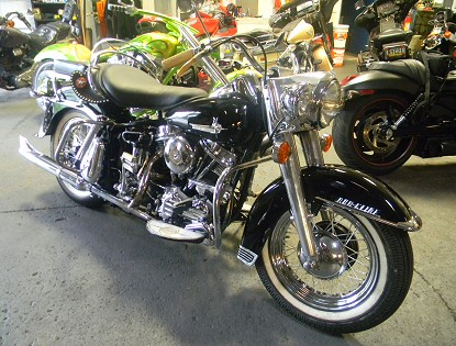 Restoring Harleys The Right Way, Iron Hawg Custom Cycles Harley Restoration, Hazelton Pennsylvania