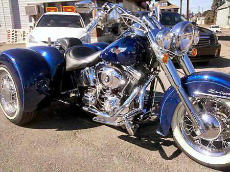 Trike Conversion Company, Custom Trike Motorcycles,Harley