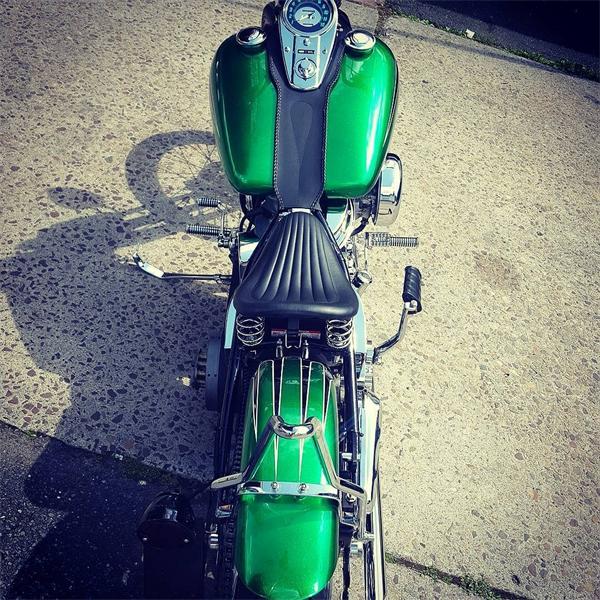 Harley Davidson Restoration 1956 Panhead By Iron Hawg Custom Cycles