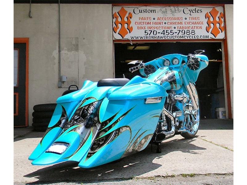 Custom Bagger Motorcycle Builders PA,Custom Baggers PA ...
