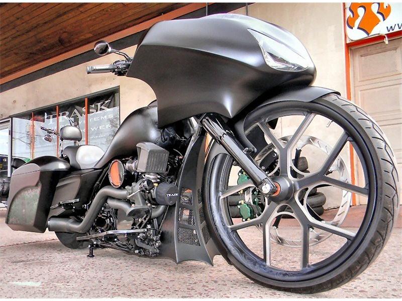 High Quality Custom Bagger Build   The Phantom   Iron Hawg CC PA. Ph. 570.455.