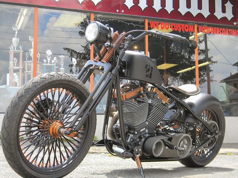 Custom Bobber Motorcycle Build - The Blitzkrieg Bobber