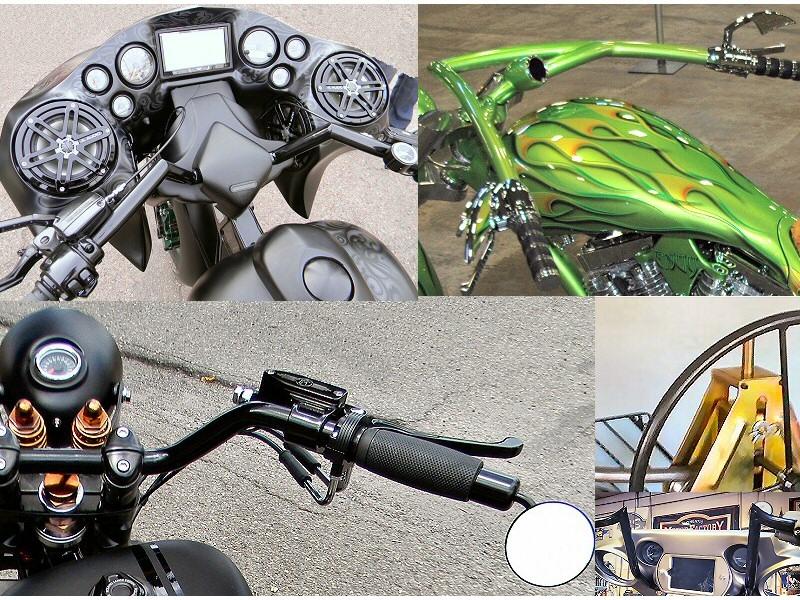 Custom motorcycle parts fabrication pennsylvania custom for Motor cycle handle bars