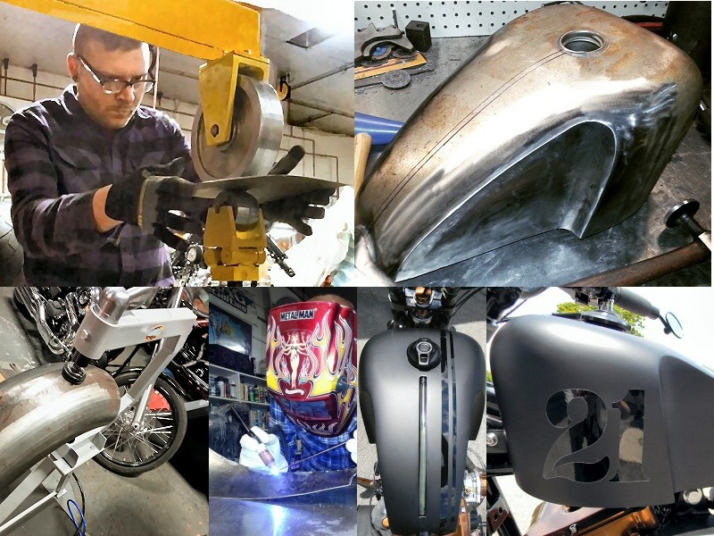 Custom Motorcycle Parts Fabrication Pennsylvania Custom Harley Parts